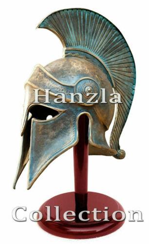 Patina Finish Medieval Ancient Costume Armour Roman Greek Corinthian Helmet new