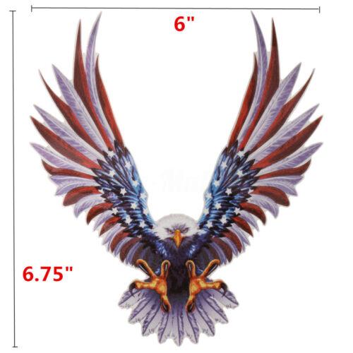 15x17CM Cool Sticker Decal Eagle Flag United States  Bumper Decor For All Car