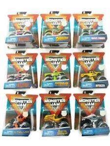 Camiones-Monster-Jam-autentico-Diecast-Vehiculo-Elige-entre-8-tipos-diferentes