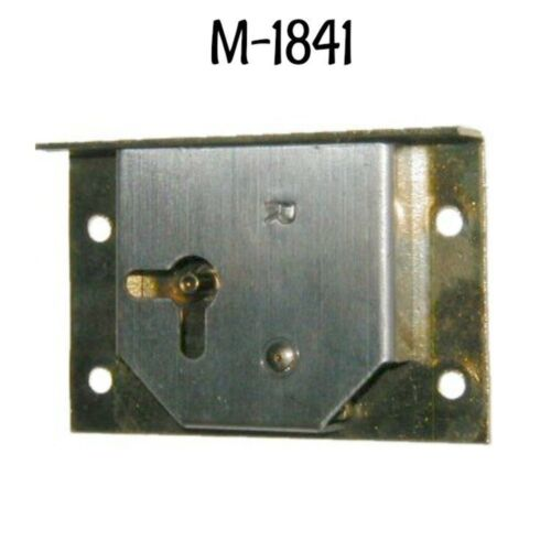 Half Mortise Lock with Key Antique Style Drawer or Right Hand Door lock Brass