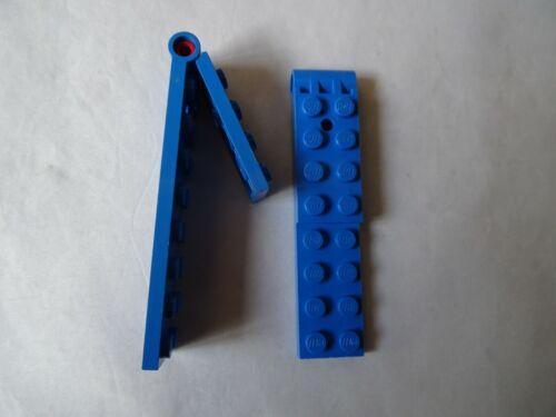 Lego parte 3324C01 Azul Grande 2 X 9 X 2 Placa De Bisagra