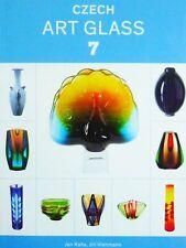 Czech Art Glass 7 catalog, EXBOR Moser Skrdlovice Vizner Libensky Hlava Lipa
