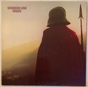 WISHBONE-ASH-ARGUS-LP-MCA-UK-1971-BLUE-BLACK-HEXAGON-LABELS-FIRST-PRESS-NR-EX