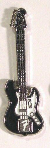 Metal Enamel Pin Badge Brooch Guitar Fender Band Player Musician