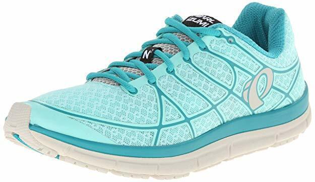 Pearl Izumi Women's EM Road N2 v2 Training Athletic Running shoes 10 Aqua bluee