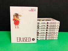 manga Star Comics - ERASED Serie completa 1 2 3 4 5 6 7 8 9 + omaggi