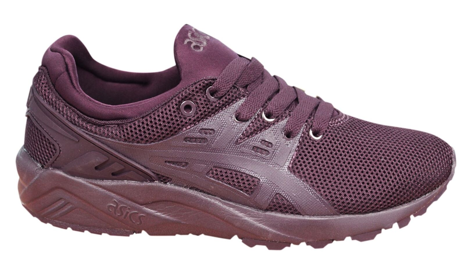 Asics Gel-Kayano Evo Lace Up Rioja rot Synthetic Mens Trainers HN6A0 5252 U112