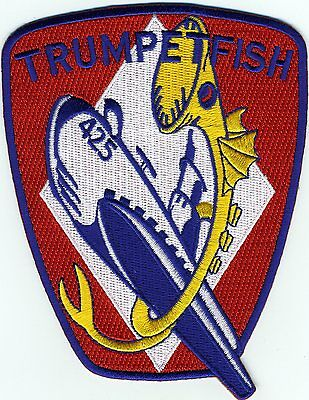 Ready Submarine Patch USS Trumpetfish SS 425 BC Patch Cat c7086