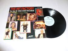 STOCK AITKEN WATERMAN - The Hit Factory - 1987 UK 14-track compilation LP