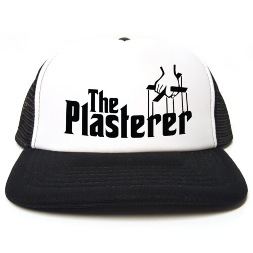 Il Plasterer-Godfather spoof-Divertente Retrò Camionista Snapback Cap 3 COLORI