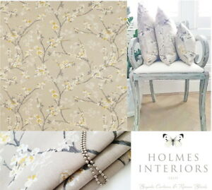 John Lewis Blossom Weave Gold Fabric Roman Blinds Made To