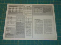 Spi wacht Am Rhein' Charts & Tables Sheet. Excellent Condition Free Shipping