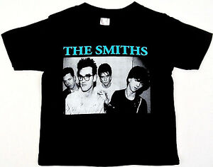 The-SMITHS-T-shirt-Morrissey-80-039-s-Rock-Tee-Baby-Infant-6M-12M-18M-24M-Black-New