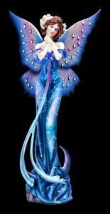 Elfenfigur - Stardust Fee Fantasy Dekoration blau Sterne