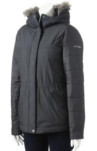 COLUMBIA Polar Plush Womens S//M//XL Black Winter Parka//Jacket//Coat NEW