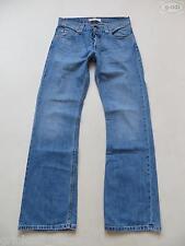 Levi's® 512 Bootcut Jeans Hose, W 31 /L 34, Faded wash Denim mit Knopfleiste !