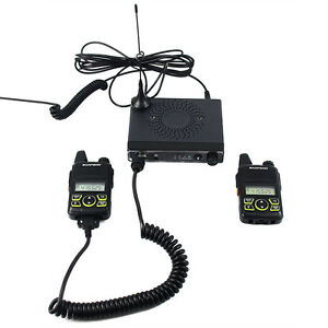Details about Baofeng MobileVehicle Ham Radio Transceiver+Two Way Radio UHF  VOX Emergency Call