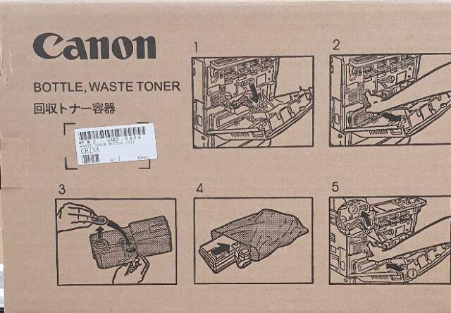 Genuine CANON WASTE TONER BOTTLE IR C 4080 4580 5180 5185 FM2 5383 000 NPG 30 31