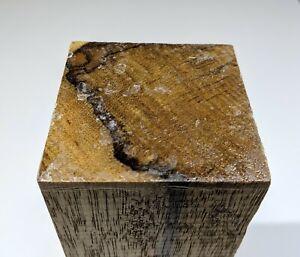 African-Black-Limba-wood-turning-blank-2-7-8-034-x-2-7-8-034-x-10-034-Terminalia-superba