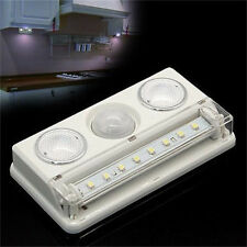 Wireless USB Cabinet LED Light Lighting Lamp PIR Infrared Motion Sensor Detector