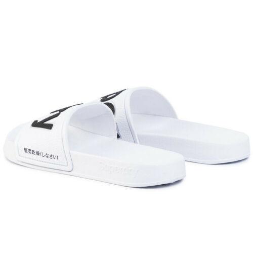 Noir//Blanc Tailles UK 3-4 Haut Femme Superdry curseurs 7-8 5-6