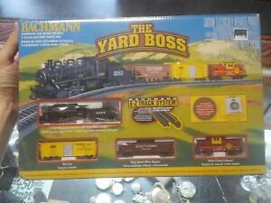"RARE SEALED Bachmann ""The Yard Boss"" Electric Train Set #24014 - Brand NEW"