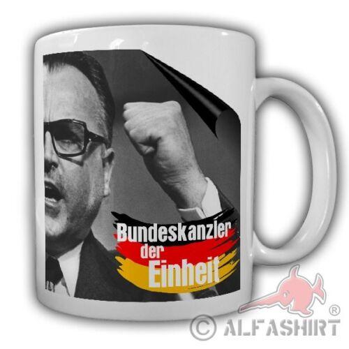 Tasse Bundeskanzler der Einheit Helmut Kohl Politiker Kanzler Altkanzler #21855