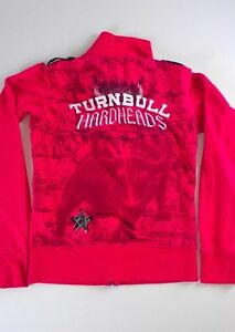 Blac-Label-Pink-Jacket-Womens-Small-Turnbull-Hardheads-Sewn-Embroidered-Star