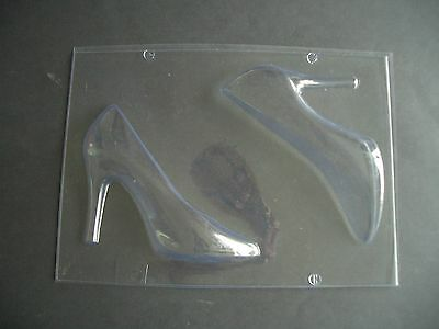XL/17cm HIGH-HEELED SHOE CHOCOLATE MOULD/3-D/SEXY STYLE/STILETTO HEELS/FABULOUS!