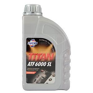 Fuchs TITAN ATF 6000 SL Automatic Transmission Fluid