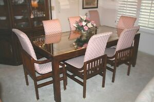 Details about HENREDON DINING ROOM FURNITURE