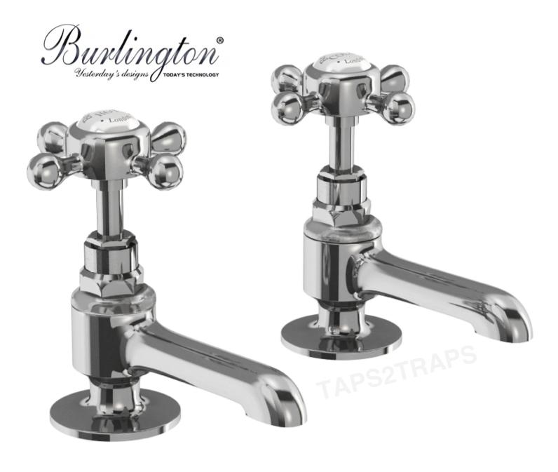 Stafford de salles de bains Burlington traditionnel bassin de nez Long robinetterie Chrome STA12