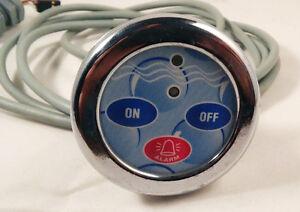 Pannello elett. per cabine doccia bagno turco cromo vitaviva