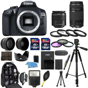 Canon-EOS-1300D-Rebel-T6-Camera-18-55mm-75-300mm-30-Piece-Bundle