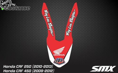 CR CRF 250 CRF450 front fender sticker decal graphics 2010 2012 Honda 2013 2011
