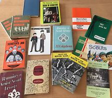 Lot of Vintage British UK BSA Boy Scout Books The Scout Shop, London