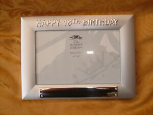 HAPPY18th-BIRTHDAY-ALUMINIUM-FRAME-4-034-x-6-034-PERSONALISED-FREE-SALE-ITEM-75-OFF
