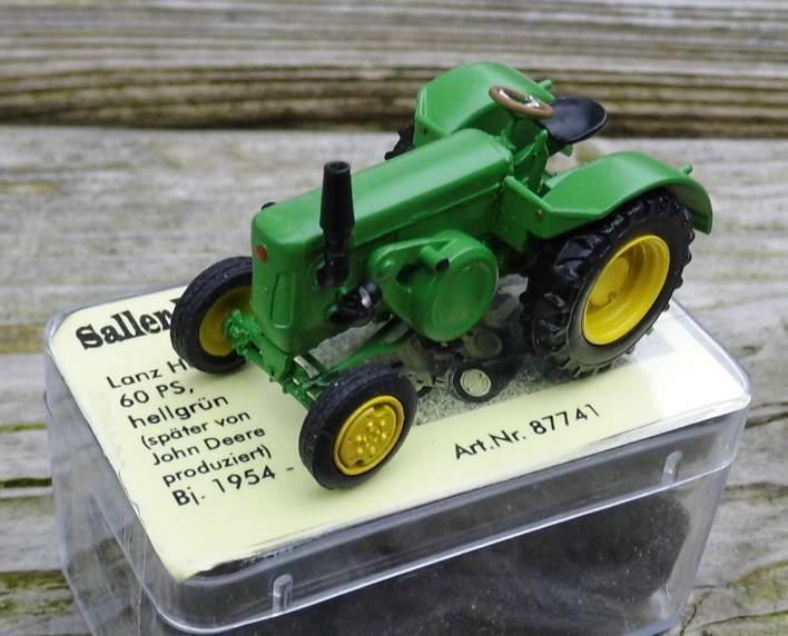 Lanz Halbdiesel 60 PS PS PS   - von Saller 1 87 961729