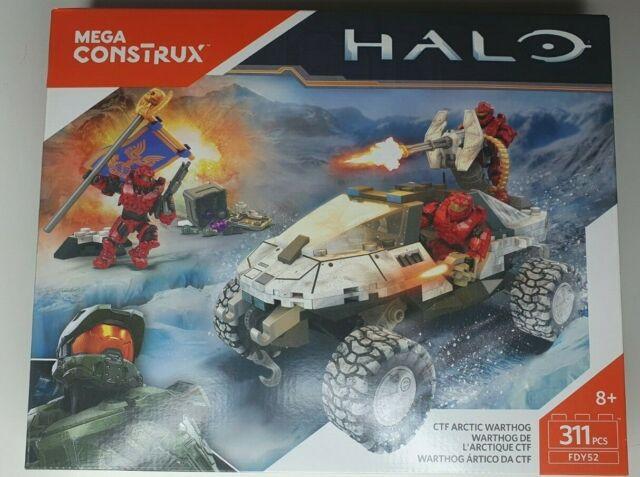 Halo Mega Bloks Construx CTF Arctic Warthog FDY52