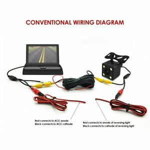 Tft Backup Camera Wiring Diagram | Wiring Diagram on