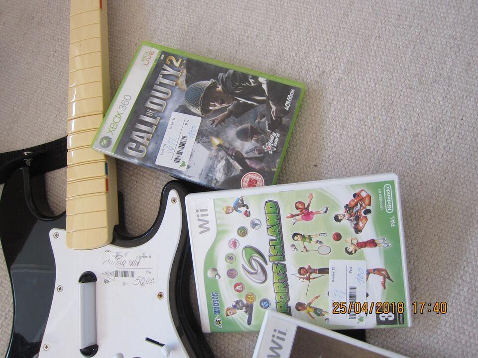 Wii Spil, Nintendo Wii, anden genre