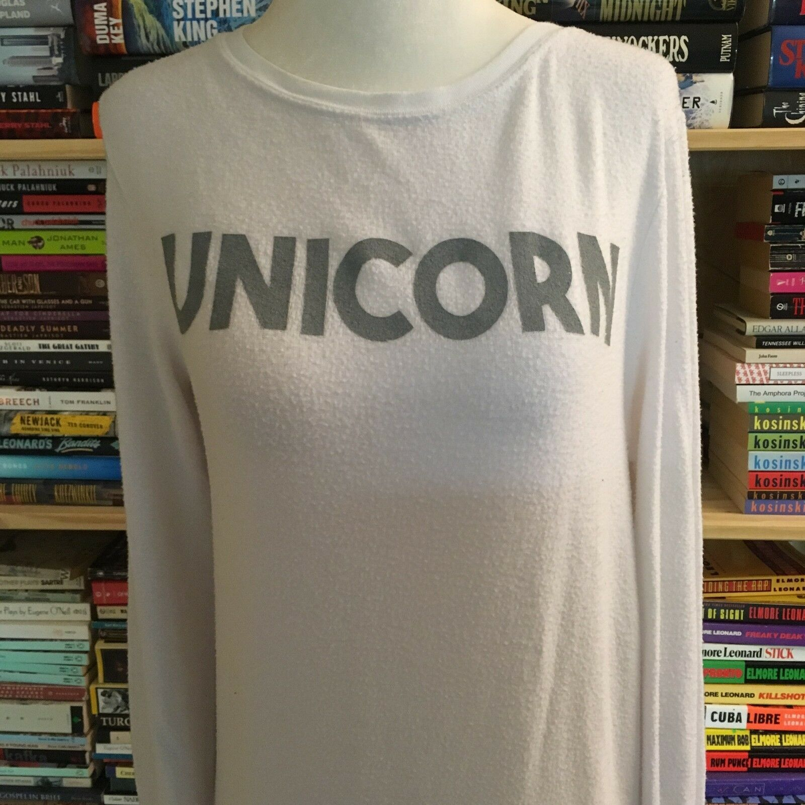 Wildfox Unicorn baggy beach jumper, size XS