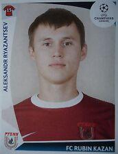 Panini 408 Aleksandr Ryazantsev Rubin Kazan UEFA CL 2009/10