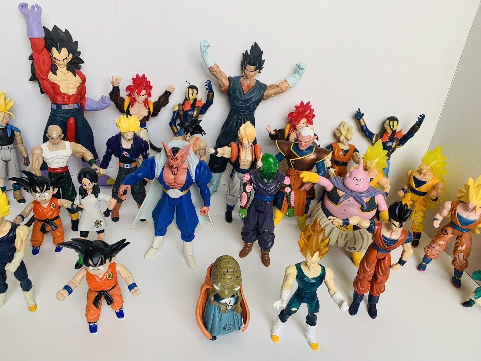 Jakks Pacific  Dragonball Z Action Figures Lot Rare  grand choix
