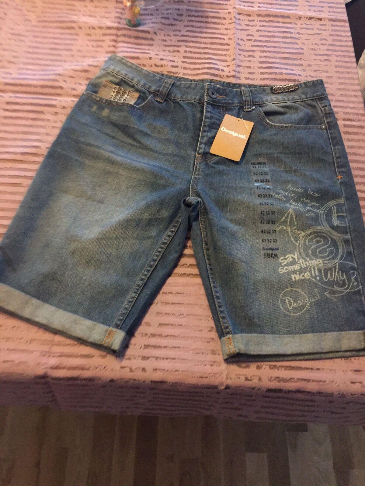 DESIGUAL Jeans Pantaloni Tg. 32 NUOVO con etichetta