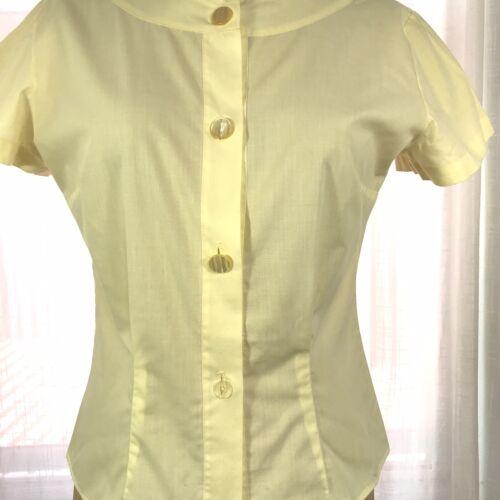 70s Rhonda Lee multi-colored blouse