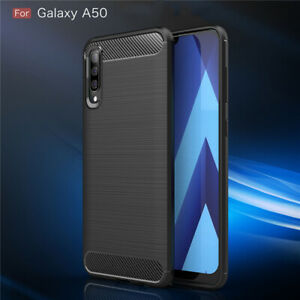For-Samsung-Galaxy-A70-Case-A50-A30-M20-A10-Soft-Carbon-Fiber-Ultra-Slim-Cover