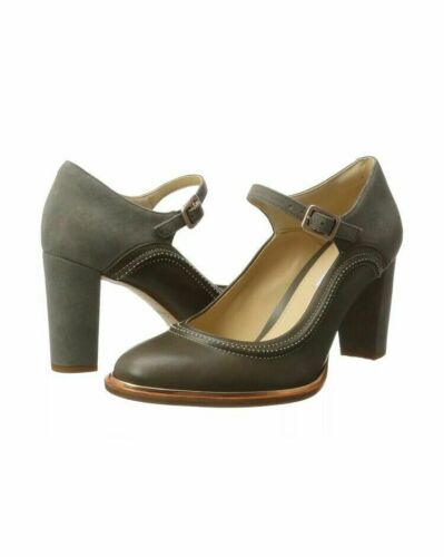 Ellis Grey Claks Tamaño Mae 6 Reino para cuero de Zapatos tacón D gamuza Combi mujer Unido 54tBqx5dw