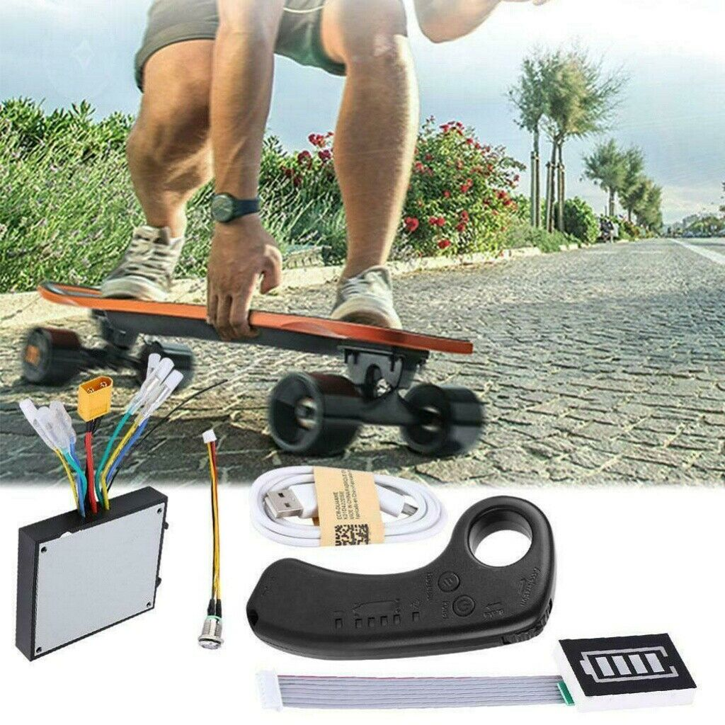 10S  Dual Motors Electric Longboard S board Controller ESC Substitute Control  high quality & fast shipping