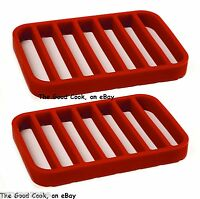 Set Of 2 Roast Rack Bpa-free Silicone Nonstick Safe For Ninja Cooking System